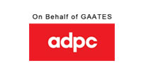 On behalf of GAATES ADPC logo