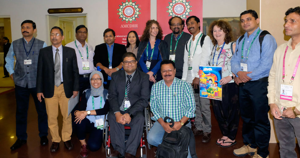 AMCDRR Conference participants group photo
