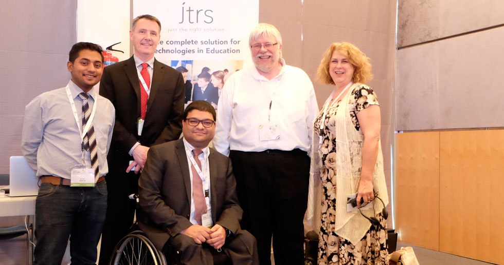 (from left), Suhail, Kirk, Our CEO, Aqeel Qureshi, David Bases and Debra Ruh