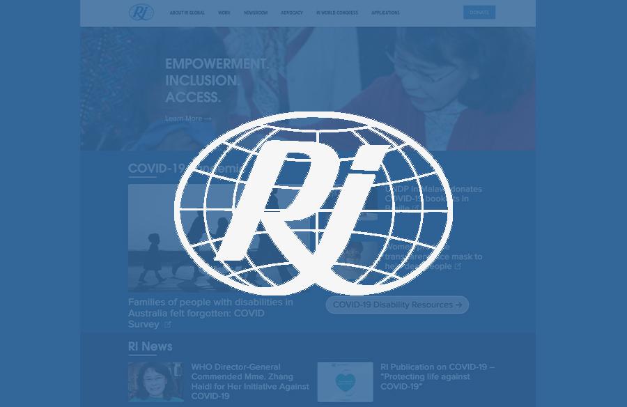 RI Global Website screenshot with logo