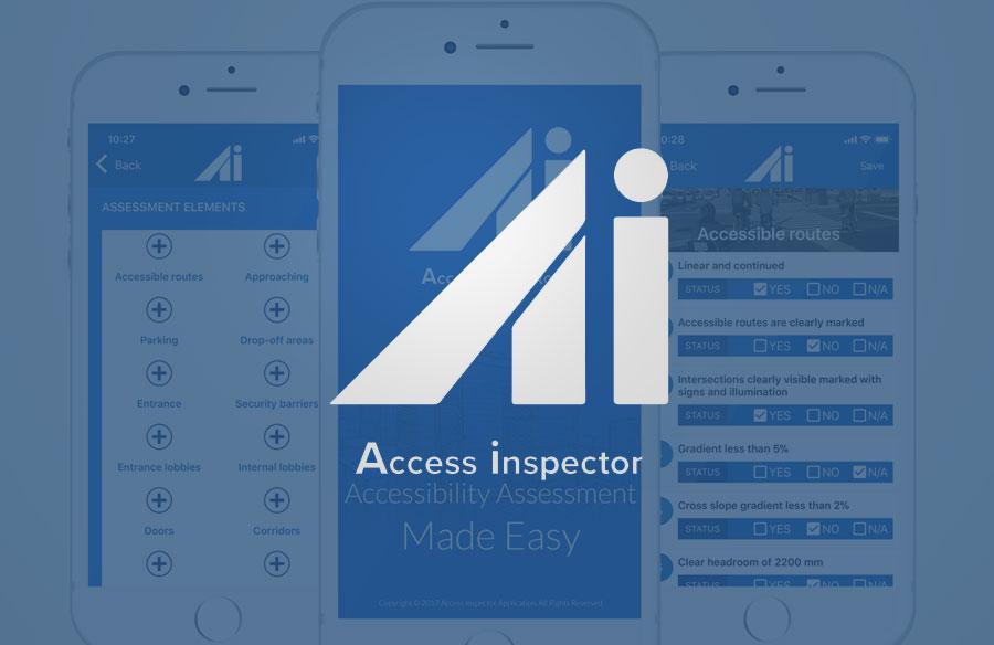 Access Inspector Screenshots with Logo
